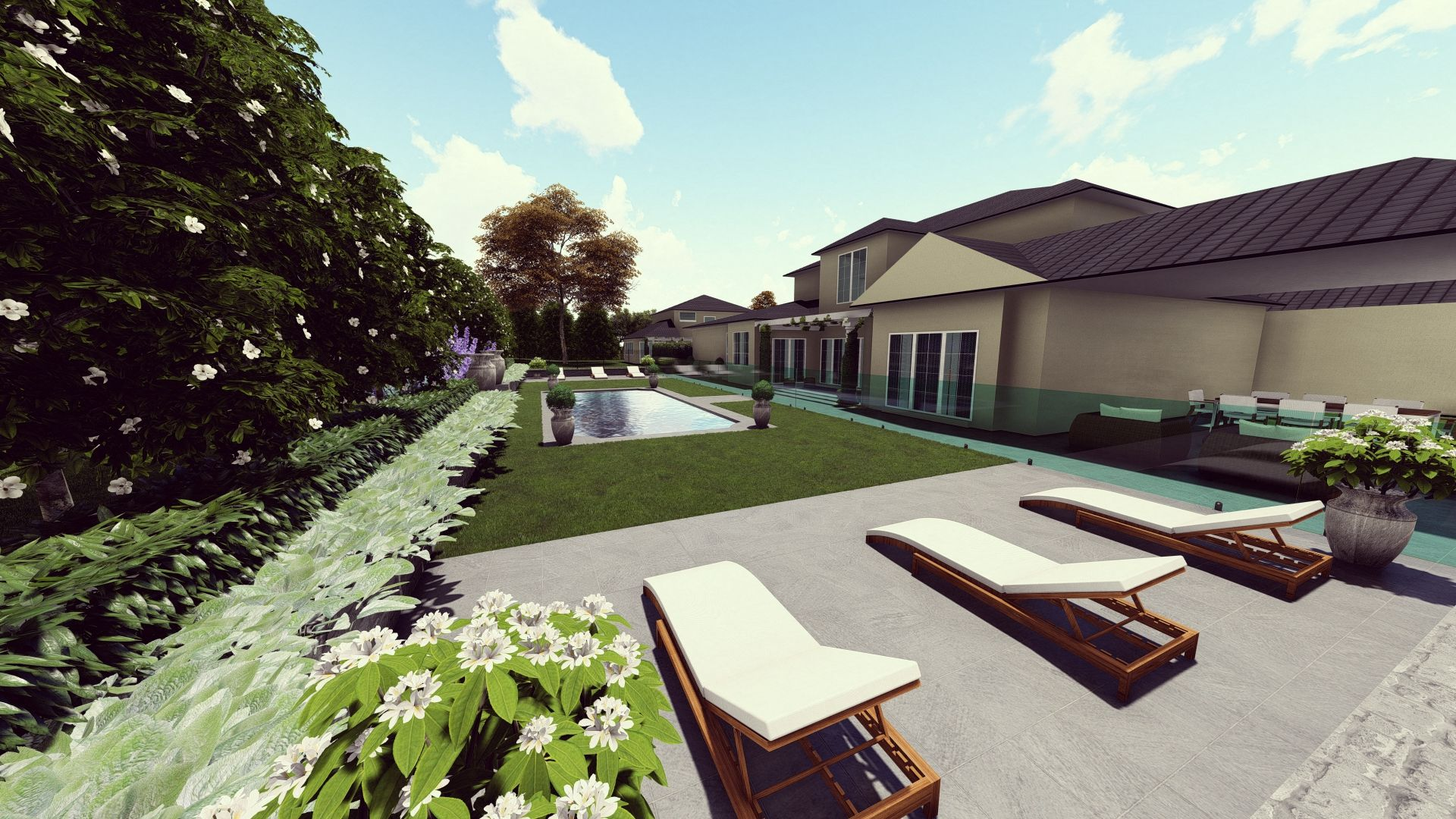 Landscape Design Preview In Western Sydney